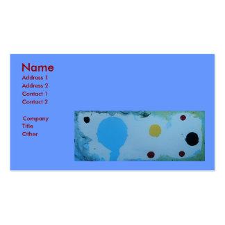 SINGLE PARENT BUSINESS CARD TEMPLATE