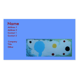 SINGLE PARENT PACK OF STANDARD BUSINESS CARDS