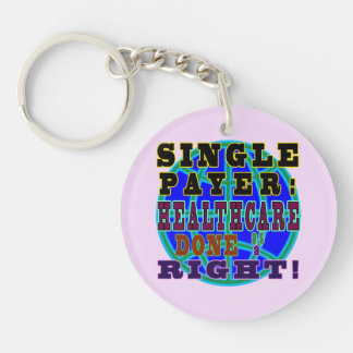 Single payer round keychain