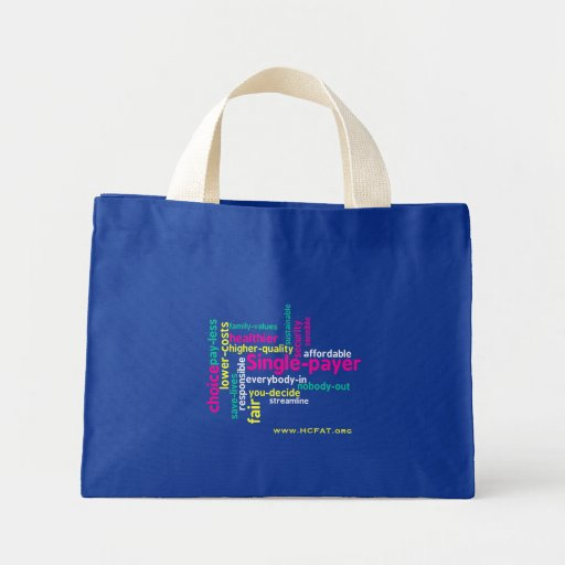 Single-payer Tiny Tote Tote Bags