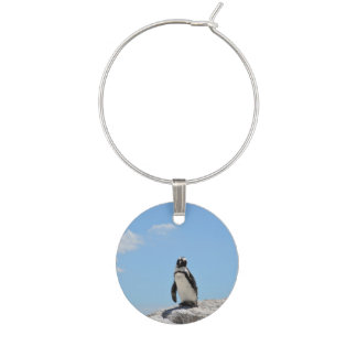Single Penguin Wine Charm