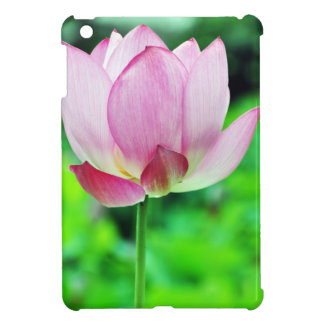 Single Pink Lotus Blossom Case For The iPad Mini