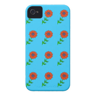 Single Red Flower iPhone 4 Cover