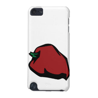 Single Red Habanero Graphic iPod Touch (5th Generation) Cases