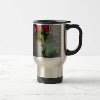 single red rose.jpg coffee mugs
