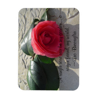 Single Rose Magnet