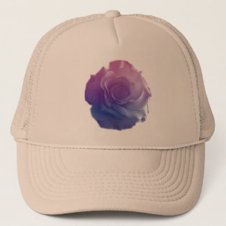 Single Rose Trucker Hat