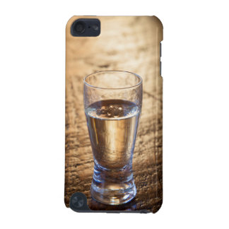 Single shot of Tequila on wood table iPod Touch (5th Generation) Covers