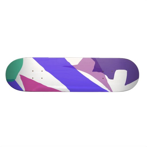 Single Skate Board Deck