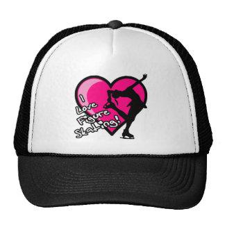 Single Skater, Hot Pink & Black Cap