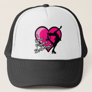 Single Skater, Hot Pink & Black Trucker Hat