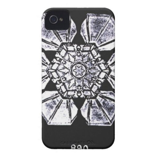 Single Snowflake Photography Case-Mate iPhone 4 Cases