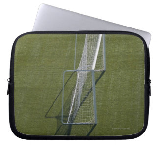 Single Soccer Goal Laptop Sleeve