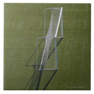 Single Soccer Goal Large Square Tile
