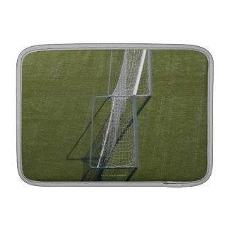Single Soccer Goal MacBook Sleeve