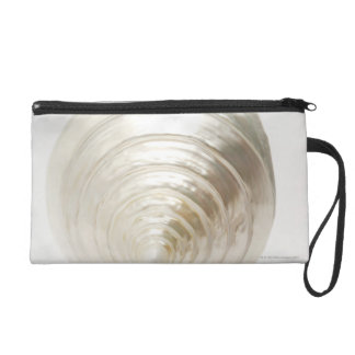 Single spiral seashell wristlet