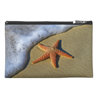 Single Starfish on Beach Travel Accessory Bag
