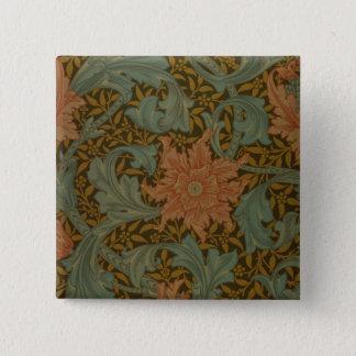 'Single Stem' wallpaper design 15 Cm Square Badge
