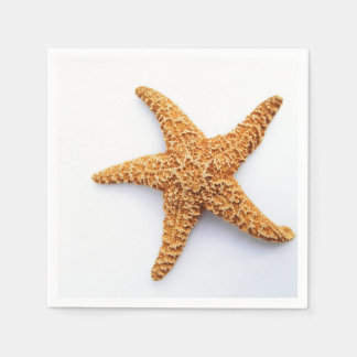 Single Sugar Starfish Paper Napkins