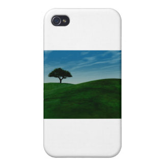 Single Tree iPhone 4/4S Cover