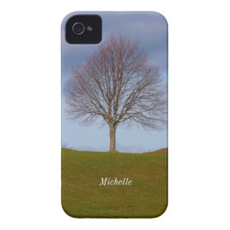 Single Tree nature photo, Personalized iPhone 4/4s Case-Mate iPhone 4 Case