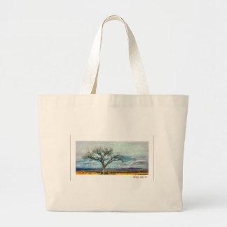 Single tree - New Mexico Jumbo Tote Bag