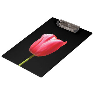 Single Tulip Charm Clipboard
