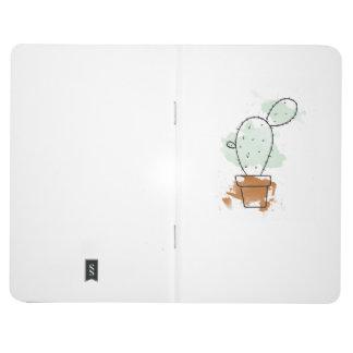 Single Watercolour Cactus Journal