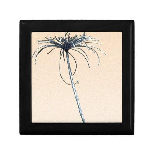 Single Weed Artistic Keepsake Box