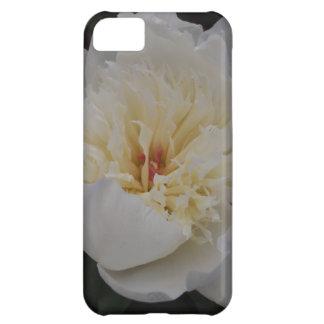 Single White Camellia Case For iPhone 5C