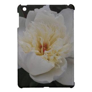 Single White Camellia iPad Mini Cover
