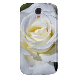 Single white rose blossoms HTC vivid cover