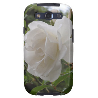 Single White Rose Galaxy SIII Cases