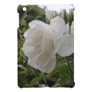 Single White Rose Case For The iPad Mini