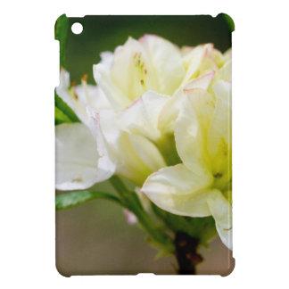 Single white wild flower iPad mini covers