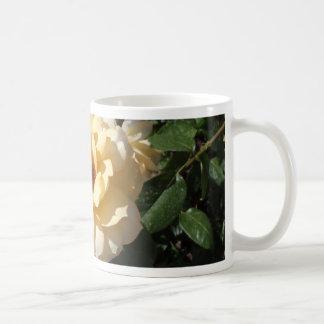 Single Yellow Rose Mug