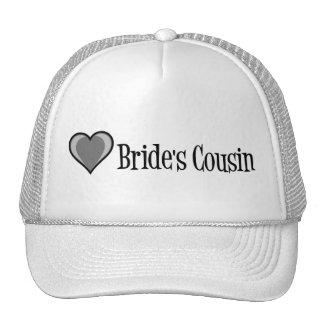 SingleHeart-Bride's Cousin-Blk Cap