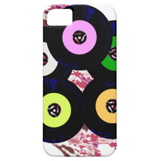 Singles Collection Jazz Background iPhone 5 Cases