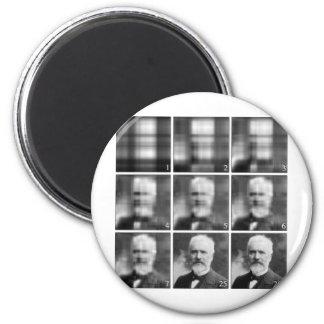 Singular value decomposition 6 cm round magnet