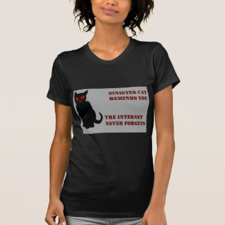 Sinister Cat Grey T-shirts