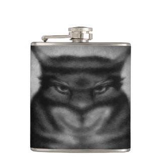 Sinister Cat Hip Flask