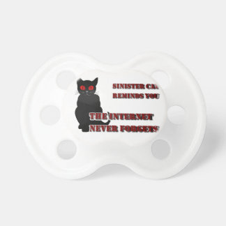 Sinister Cat Pacifiers