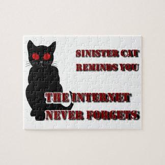 Sinister Cat Puzzle