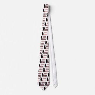 Sinister Cat Tie