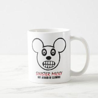 Sinister Micky Not Afraid Of Clowns Mug