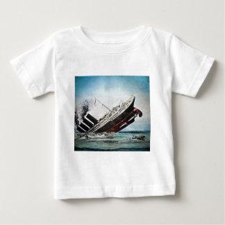 Sinking of the Titanic Magic Lantern Slide T-shirts