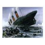 Sinking RMS Titanic Postcards