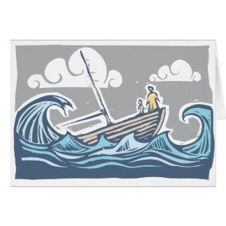 Sinking Ship Greeting Card