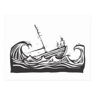 Sinking Ship Post Card