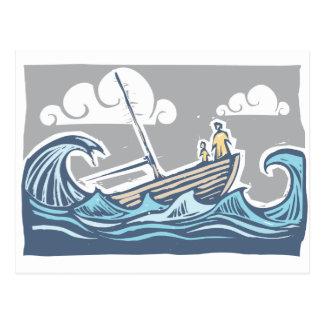 Sinking Ship Postcard